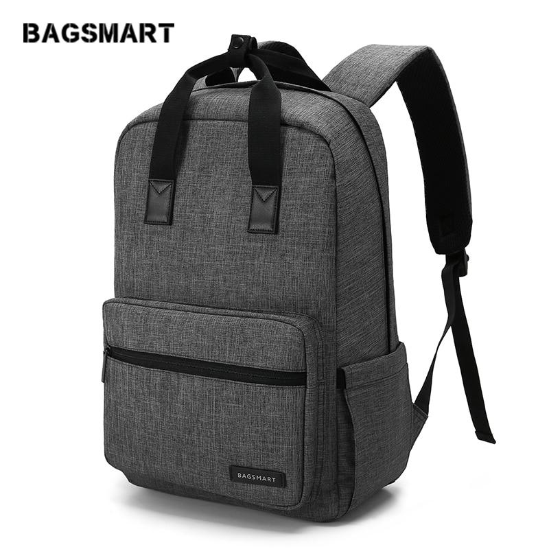 100% Wahr Bagsmart Unisex 15,6 Zoll Laptop Rucksack Rucksack Schule Tasche Reise Wasserdichte Rucksack Notebook Computer Tasche Business