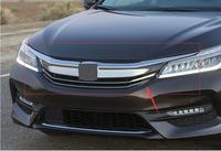 For Honda Accord 2016 2018 Radiator Grille Front Bumper Upper Chrome Grill