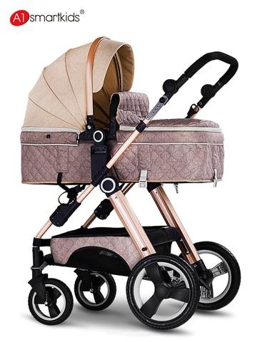 alta paisagem carrinho de crianca pode sentar e reclinar leve folding two way implementacao de