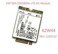 DW5809e K2W44 For Sierra Wireless EM7305 M 2 4G 100M LTE WWAN Card Module Dell E7450