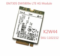 DW5809e K2W44 For Sierra Wireless EM7305 M 2 4G 100M LTE WWAN Card Module Dell E7450