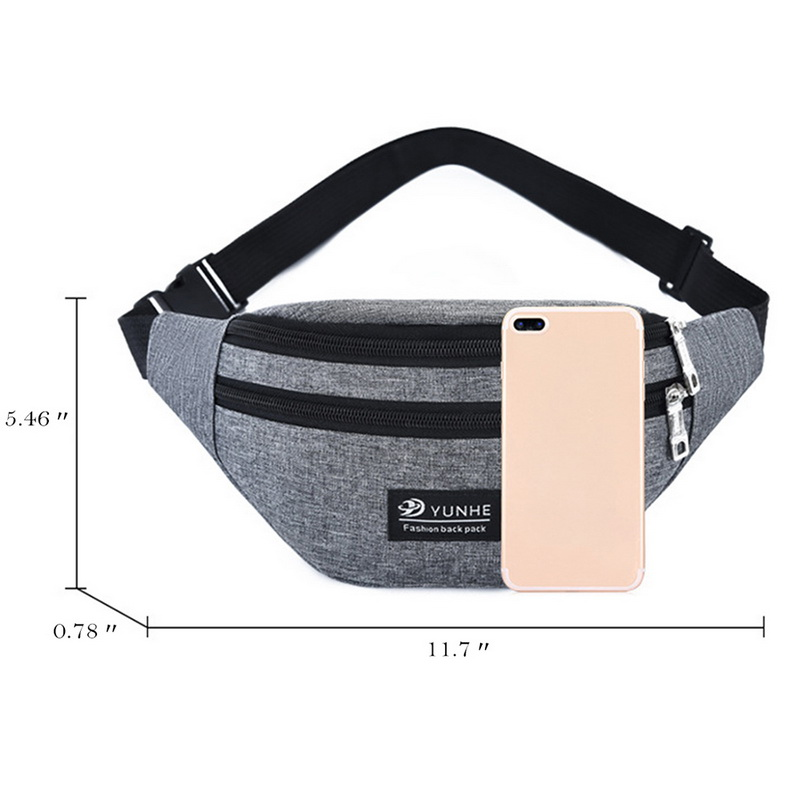 Skateboarding Ghost Sport Waist Bag Fanny Pack Adjustable For Travel