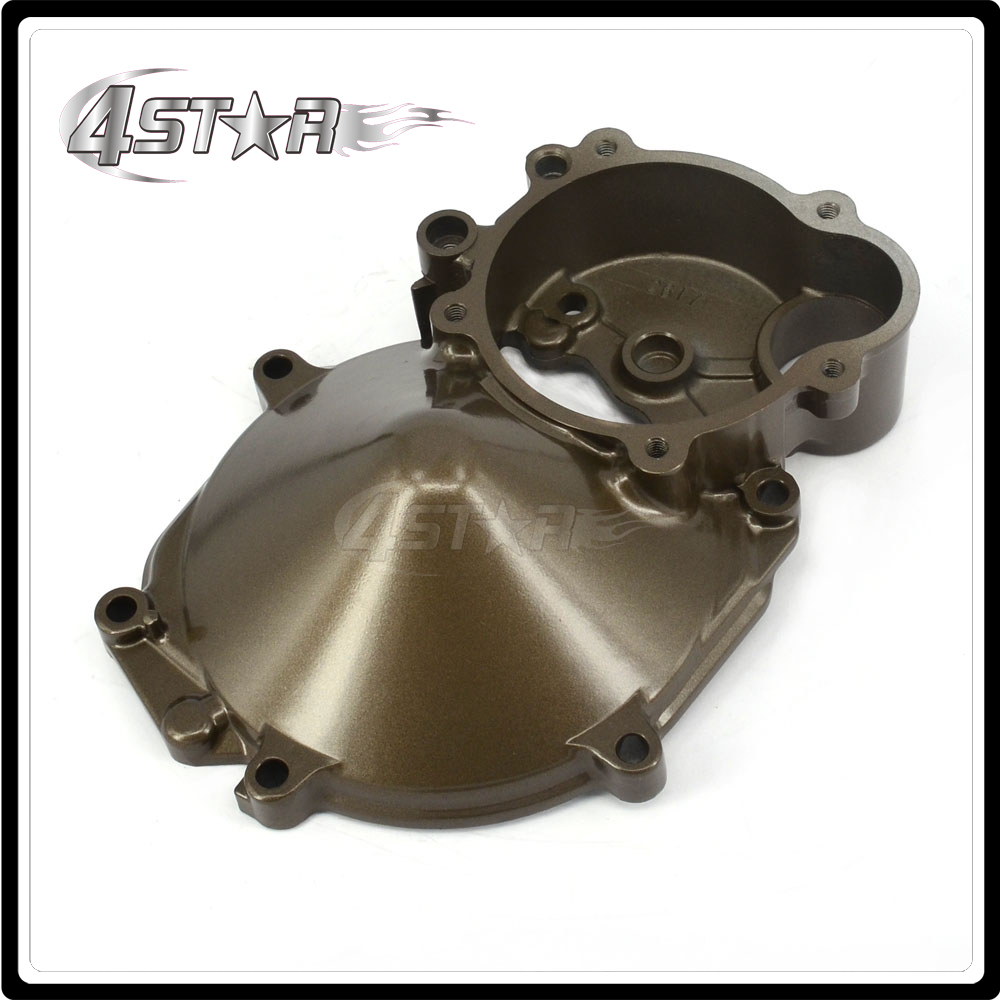 Engine Motor Stator Crankcase Cover For KAWASAKI ZX10R ZX-10R ZX 10R 2004-2005 2004 2005 04 05 Motorcycle maluokasa motorcycle aluminum engine stator cover for kawasaki zx 6r zx636 zx 636 2003 2004 moto crankcase replacement part zx6r