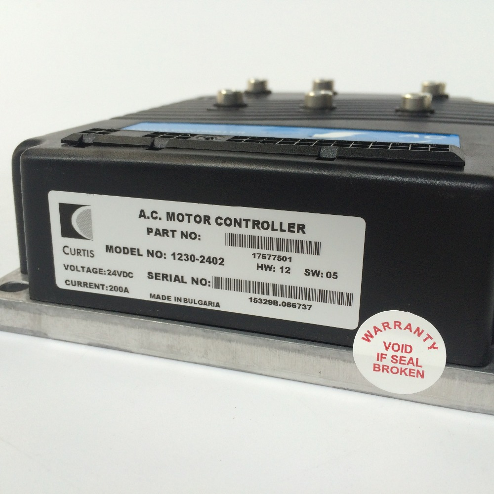 Контроллер двигателя curtis 24V 200A 1230 2402
