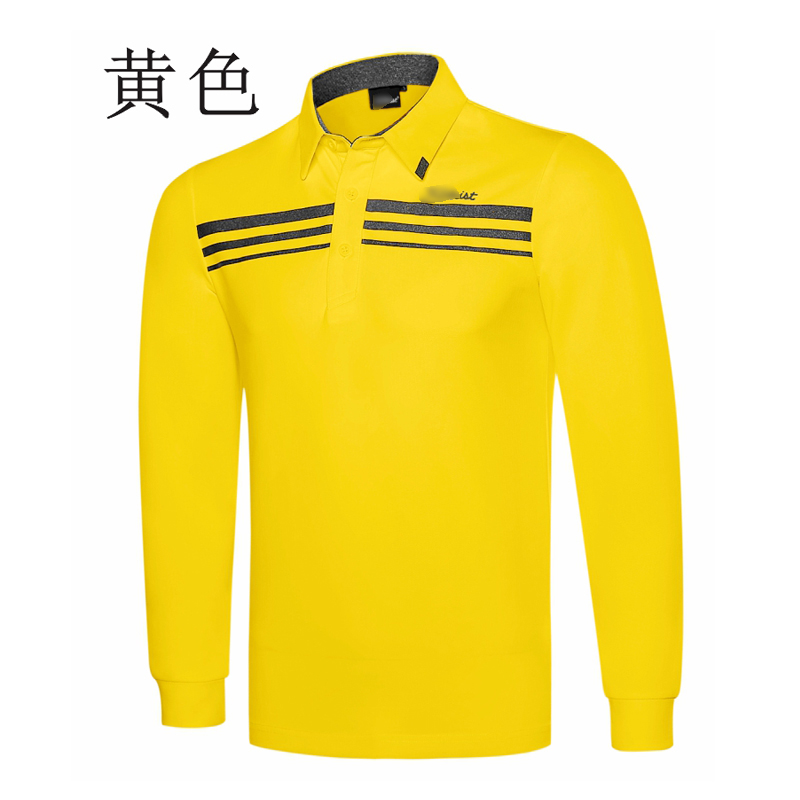 New golf clothing men long-sleeve Golf sport clothes POLO S-XXL 6 colors golf T-shirt Free shipping Q7119
