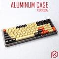 Анодированный алюминиевый корпус для клавиатуры xd96 xiudi на заказ акриловая панель stalinite diffuser может поддерживать поворотный кронштейн