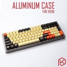 Coque en Aluminium anodisé pour xd96 xiudi, pour clavier personnalisé, panneaux acryliques, diffuseur de staline, peut supporter un support de cadre rotatif