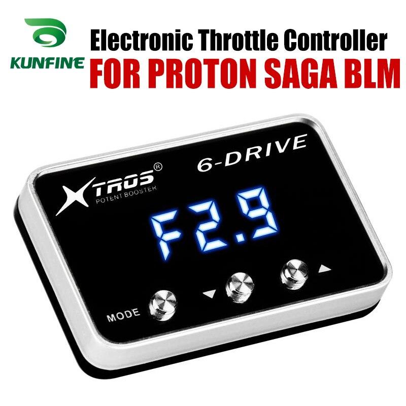 Controlador do acelerador eletrônico do carro corrida acelerador poderoso impulsionador para proton saga blm tuning peças acessório Controlador do Acelerador eletrônico do carro     - title=