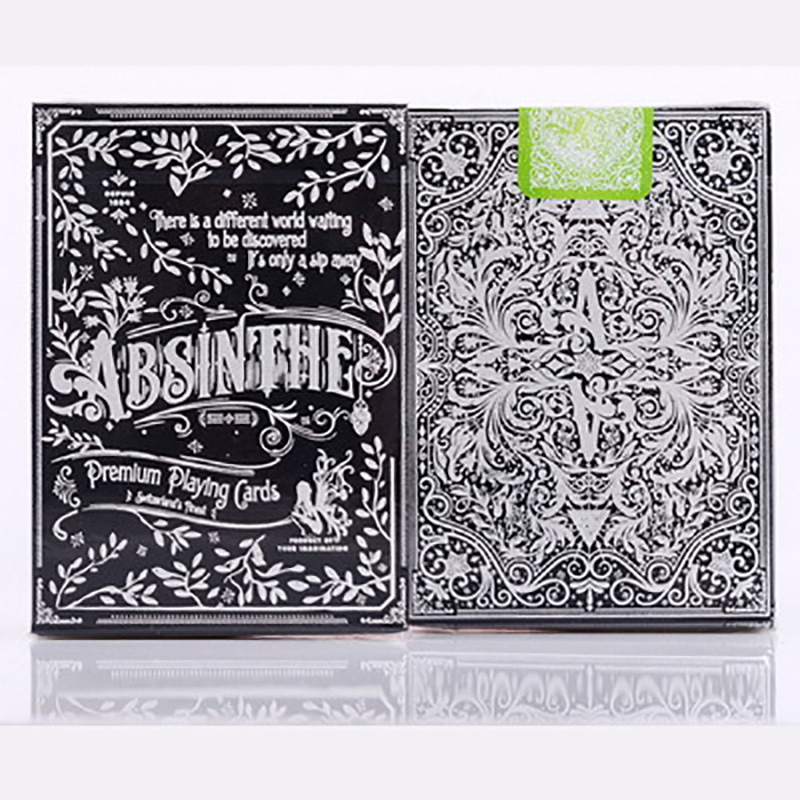 Absinthe V2 ELLUSIONIST Playing Cards Magic Category Poker Cards for Professional Magician