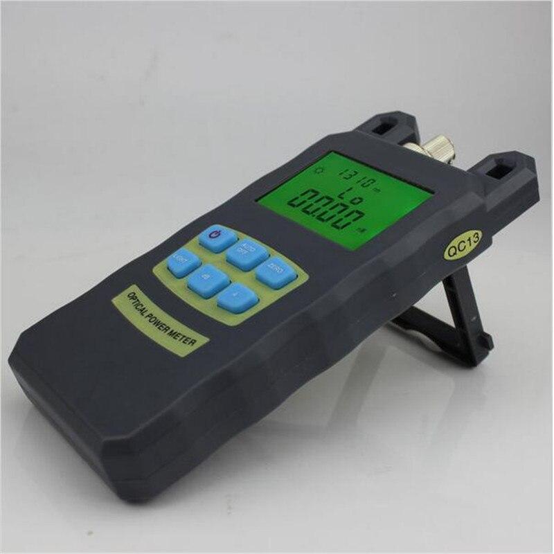 AUA-70A præcision fiberoptisk effektmåler tester tester syv-bølgelængde optisk effektmåler +10 til -70 + FC / SC-stik