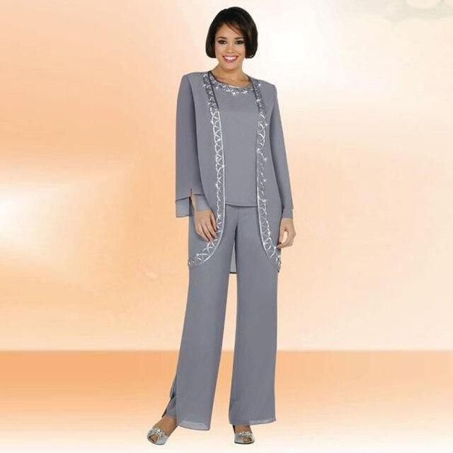 Pantalon et veste de soiree pour femme