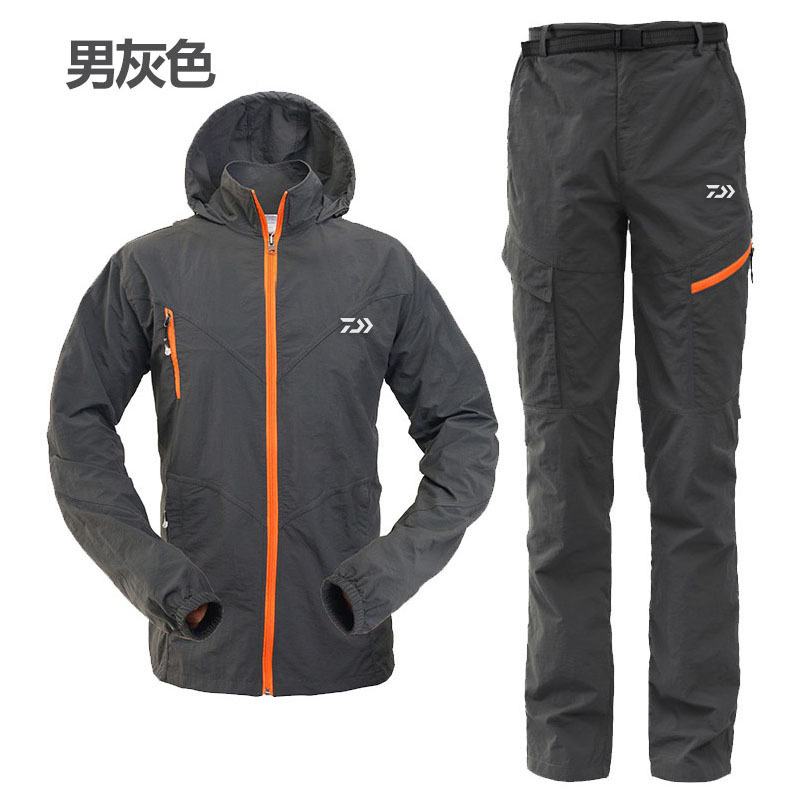 2017 NEW DAIWA Fishing clothes coat summer outdoors sports DAWA man Sunscreen light Ultrathin Breathable DAIWAS Free shipping