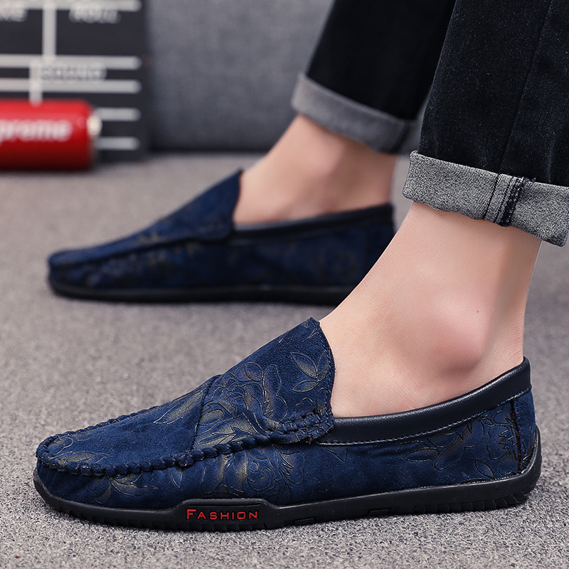 Shoes Men Moccasins Business-Peas Fashion New Summer Slip-On Loafers HC-139 Zapatos-De-Hombre