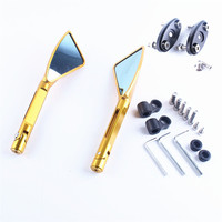 Rear View Mirrors For Suzuki GSXR1000 2001 2004 GSXR600 GSF 1200S 2001 2005 Left Right Side
