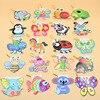160 Pieces Lot DIY Mini Cute Children Kids Birthday Greeting Cards Cartoon Animal Christmas New