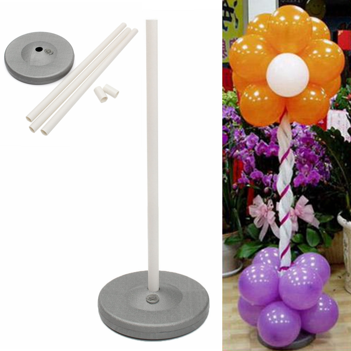 Aliexpress buy pvc balloon base botton column