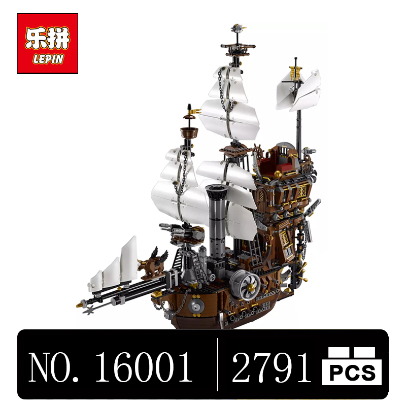 DHL Lepin 16002 2791Pcs Modular Pirate Ship Metal Beard's Sea Cow Building Block Set Bricks Kits Set Toys Compatible 70810 dhl free shipping lepin 16002 pirate