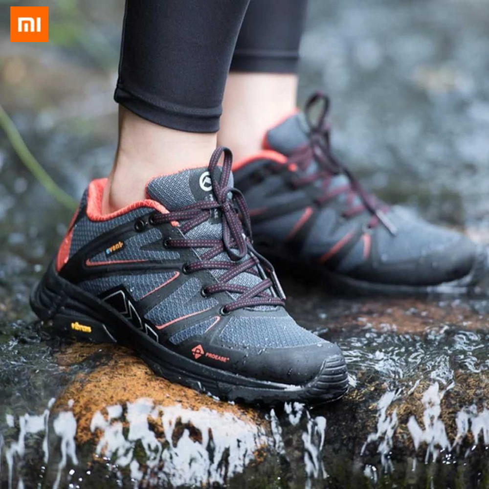 2018 New Xiaomi Mijia Proease Forest Waterproof Background V Running Outdoor Sneakers Shoes Anti Slip Shock