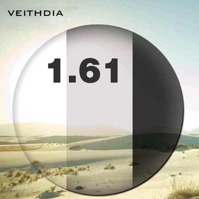 1.61 Index Photochromic Single Vision For Myopia 4.00-6.00, Astigmatism 0.00-3.00 Degree Aspherical Lens