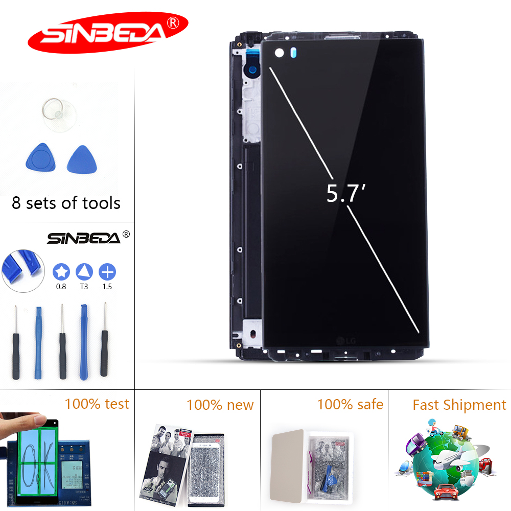 5.7Sinbeda LCD Display For LG V20 H990N H990DS H990T H910 H918 LS997 Display Touch Screen Digitizer With Frame For LG V20 LCD $5.7Sinbeda LCD Display For LG V20 H990N H990DS H990T H910 H918 LS997 Display Touch Screen Digitizer With Frame For LG V20 LCD $