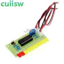 LM3915 10 LED Suono Audio Analizzatore di Spettro Indicatore del Livello di Kit FAI DA TE Electoronics Saldatura Pratica Set