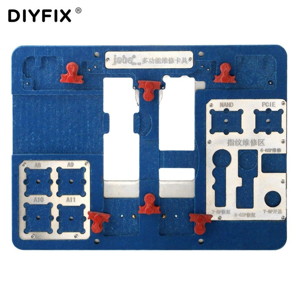 $32.58 | Circuit Board PCB Holder Jig Fixture for iPhone 8/8P/77P/6S/6SP/6/6P Logic Board A8 A9 A10 A11 Chip with Fingerprint Repair Tool