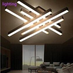 Nowoczesne oświetlenie sufitowe LED zdalnego sterowania aluminium oświetlenie sufitowe do sypialni/salon kryty oprawa oświetleniowa sufitowa