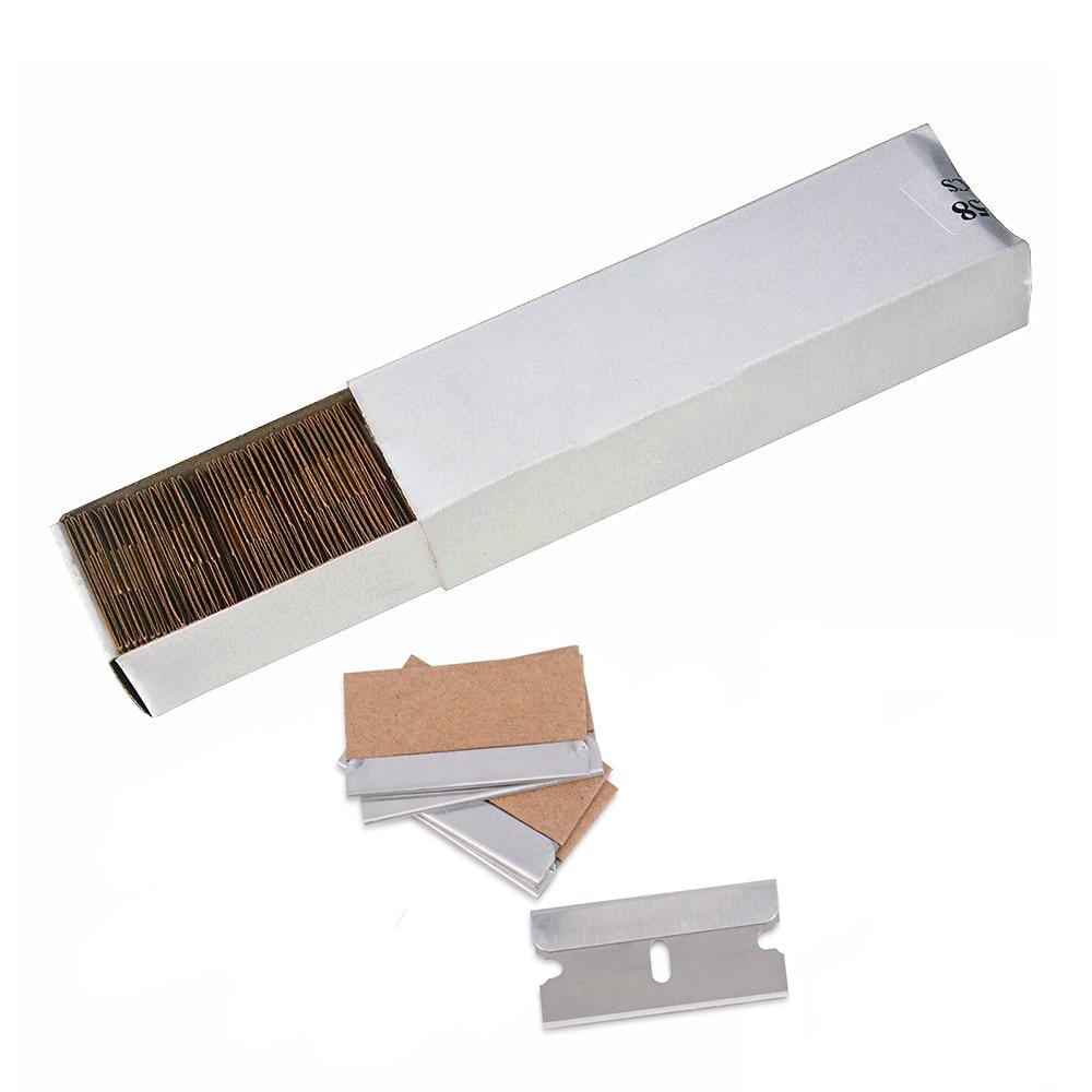 Ehdis 100pcs 1 5 Quot Spare Razor Blade For Razor Scraper