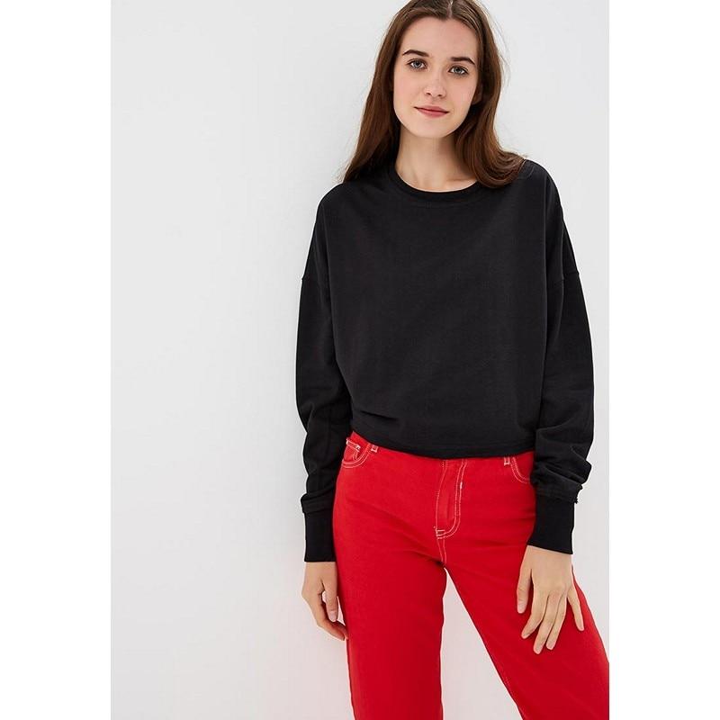 Hoodies & Sweatshirts MODIS M182W00274 hooded jumper sweater for female for woman TmallFS