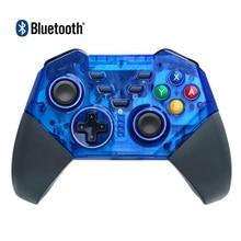 Contrôleur sans fil pour Nintendo Switch Windows PC Bluetooth manette de jeu manette Pro gyroscope intégré Double choc livraison directe