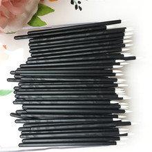 Cool 100 PCS Disposable MakeUp Lip Brush Lipstick Gloss Wands Applicator Make Up Must-Have Cosmetic Tools