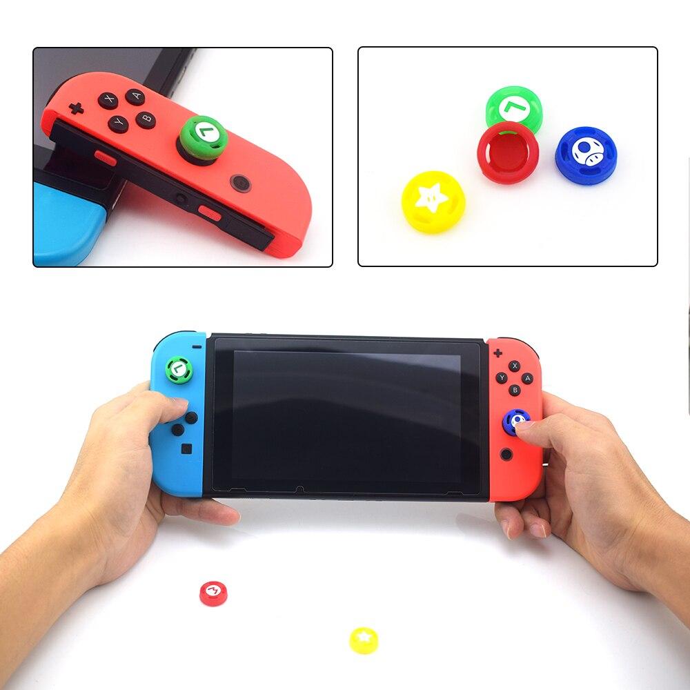 Данные лягушка 2 шт. рукоятка колпачок для Joy Con геймпад силиконовая палка для большого пальца аналоговая крышка s для пульта Nintendo NS JoyCon контр...
