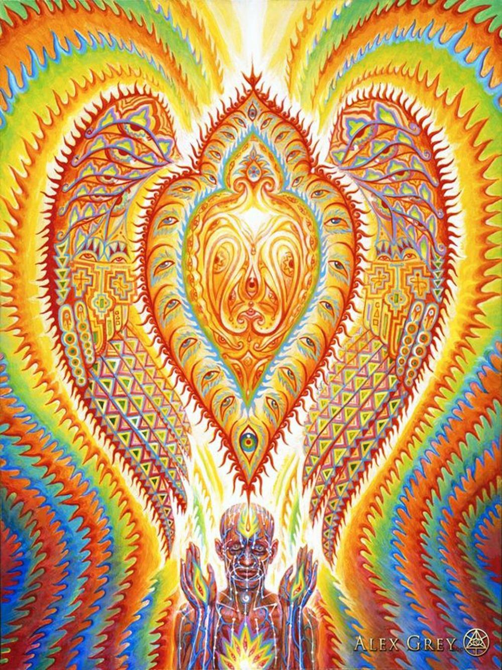 Fine Trippy Wall Art Images - The Wall Art Decorations ...