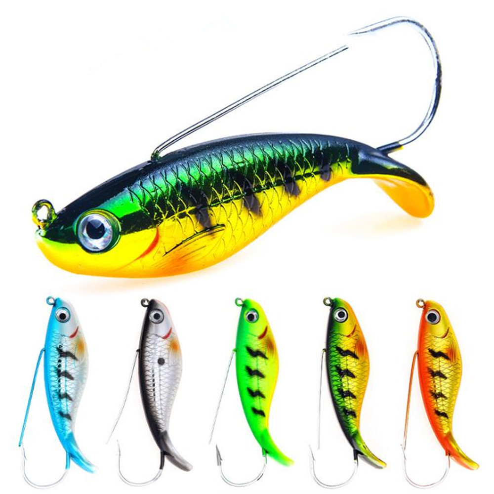 US $1 55 22% OFF|1 Pcs 8cm/21 4g Fishing Lure Anti Grass Fishing Wobbler  Artificial Bait Hard VIB Lures Laser Body Live Fish Carp Fishing Gear-in