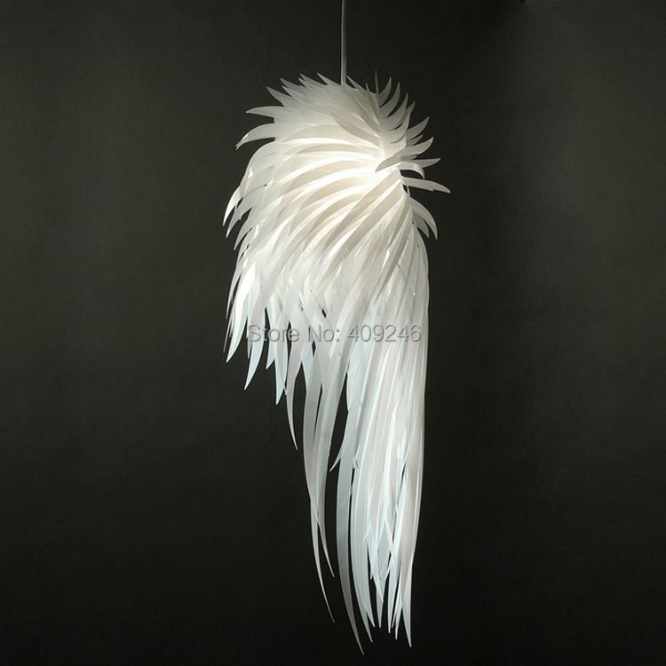 Fashion Export Chandeliers Modern Creative Individuality Bedroom Room Dining Room Romantic Angel Wings Feathers Droplight женские чулки export