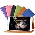 Цветок печати ПУ Кожаный Чехол для Huawei Mediapad T2 7.0 Pro tablet Чехол для Huawei M2 Yougth PLE-703L + Защитная Пленка