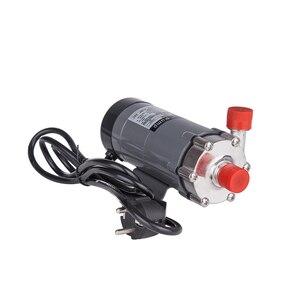 Image 2 - 304 stal głowy pompa magnetyczna 15R, Homebrew, Food Grade wysoka temperatura opór 140C piwa pompa z napędem magnetycznym domowe warzenie