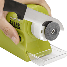 Amolador de Faca Swifty Sharp Precision Power Sharpening Plastic Diamond Motorized Knife Sharpener Household Kitchen Accessories