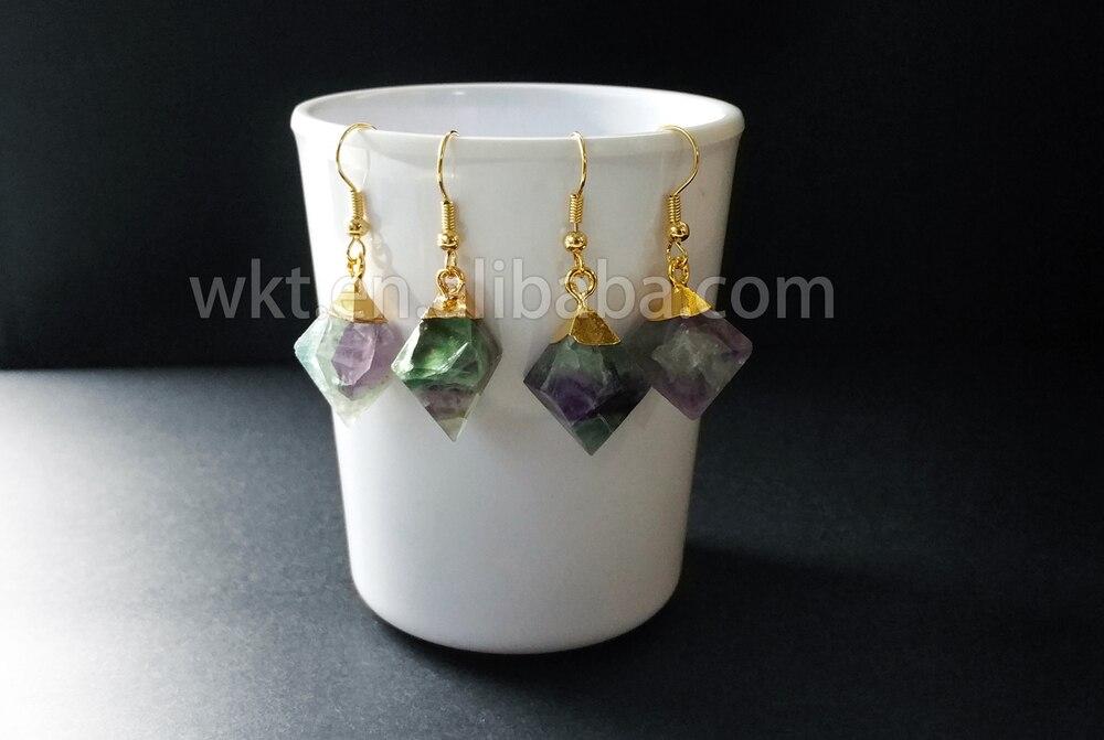 brincos losango pedra dangle brinco pendente para mulheres jóias