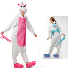 Onesie Halloween Wholesale Animal Stitch Star Unicorn onesie Adult Unisex Cosplay Costume Women Pajamas Sleepwear Adult Winter