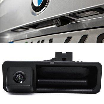 CCD car reverse back up parking camera for BMW X3 X1 X5 X6 5 series 320LI 530I 328i 535Li HD waterproof wireless screen