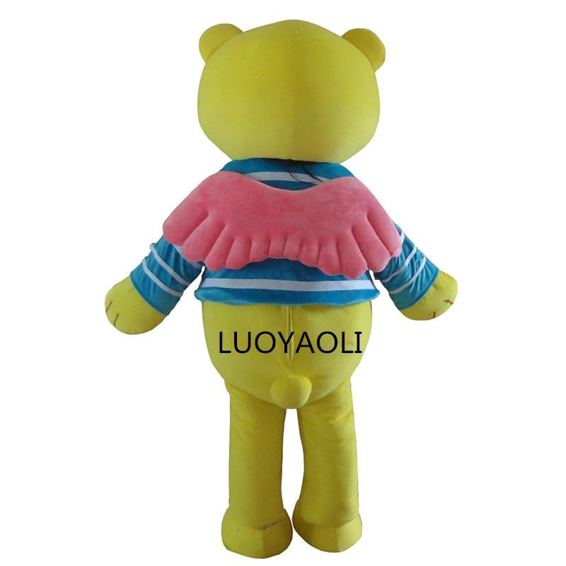 2014 neuankömmling custome neue stil braun teddybär maskottchen - Kostüme - Foto 3