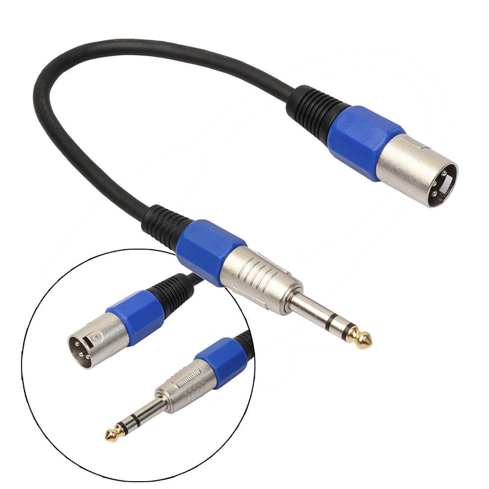 detail feedback questions about 6 35mm jack stereo plug to 3pin xlr cable male to female audio cable for microphone connections speakers amplifiers on  [ 1001 x 1001 Pixel ]