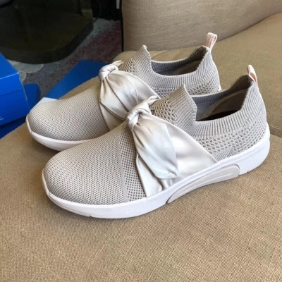 Deportivo Arc Sauvage 1 Super Plate Star Calzado Blanc forme 3 Fond Chaussures Femme Casual 2 Tricot Plat FpwOHq5w