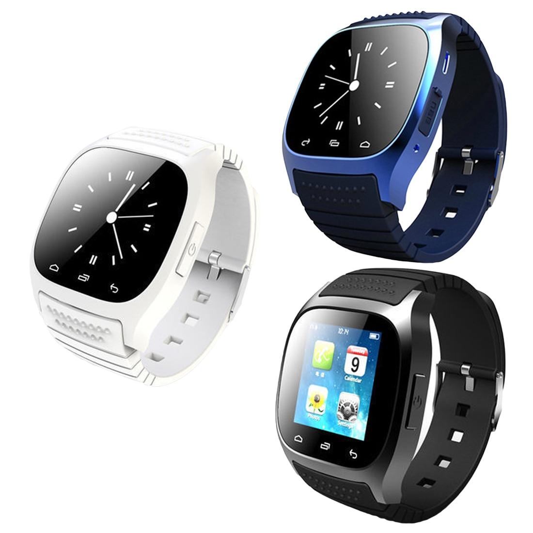 Новый bluetooth smart watch m26 роскошные наручные часы г часы smartwatch с набора sms напомнить шагомер для android samsung телефон.