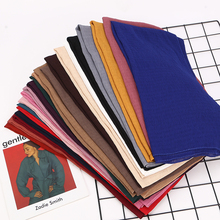 1 pc Bubble Chiffon Scarf Shawls Big Size Crinkled Solider Colors Pleated Hijab muslim scarves/scarf