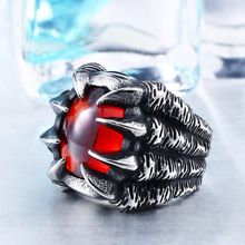High Quality Heavy Metal Dragon Claw Ring