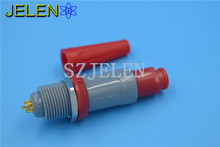 LEMO connector 8 pin, PAG.M0.8GL.AC39R/PLG.M0.8GL.LR, Power wire connectors, medical equipment plug