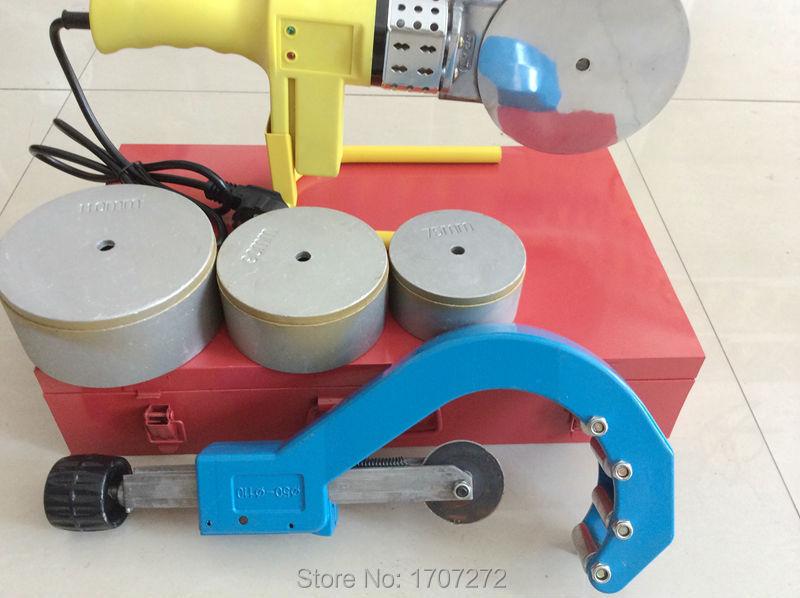 Darmowa Wysyłka stała temperatura elektroniczna spawarka PPR AC 220 - Sprzęt spawalniczy - Zdjęcie 5