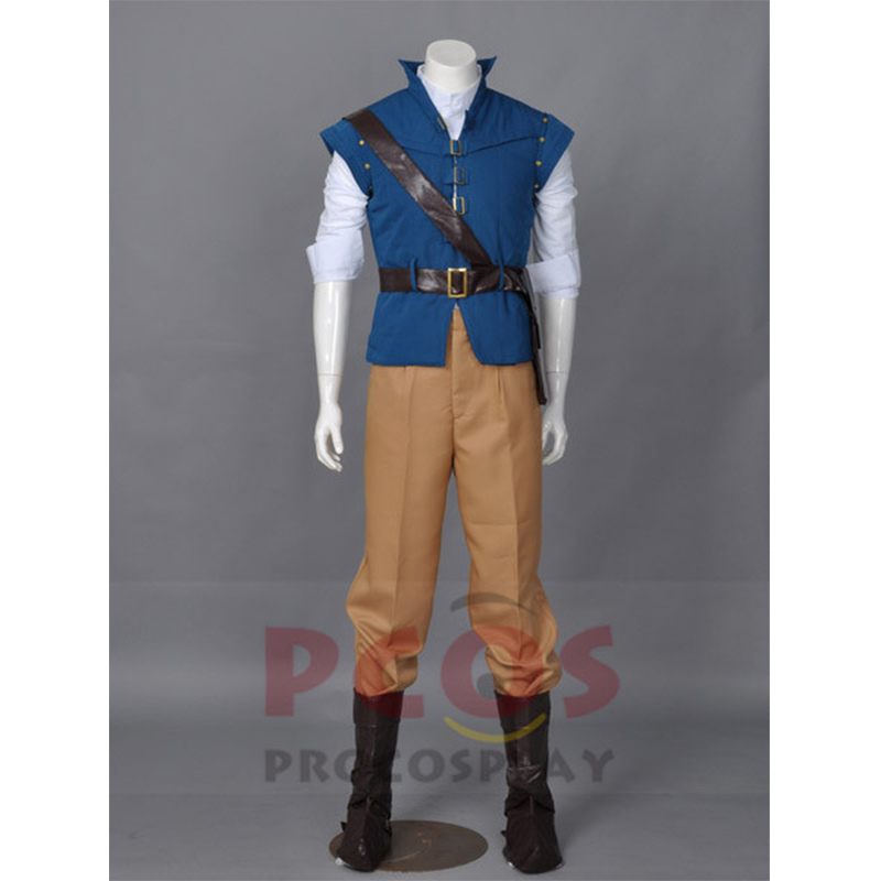 BEST Tangled Flynn Rider Cosplay Costume Custom mp001594
